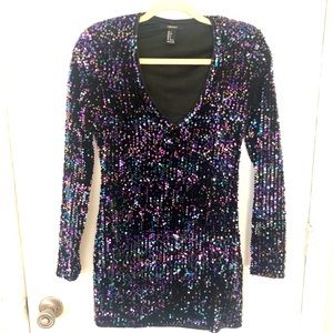 Forever 21 Sequin mini dress - S